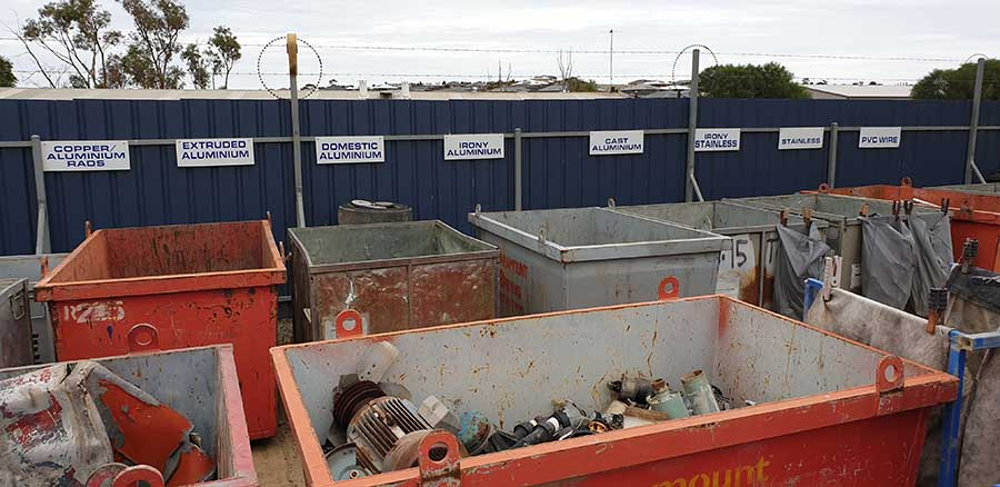 Scrap Metal Recycling Victor Harbor & Goolwa | Coastal Waste